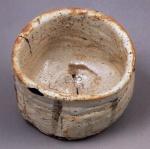 志野茶碗『卯花墻』 ◎11.6cm.d.△9.8cm.h. [ 国宝 ] 三井文庫蔵 ⑤