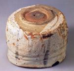 志野茶碗『卯花墻』 ◎11.6cm.d.△9.8cm.h. [ 国宝 ] 三井文庫蔵 ⑥
